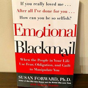 BOOK LEARN TO DEAL EMOTIONAL BLACKMAIL
